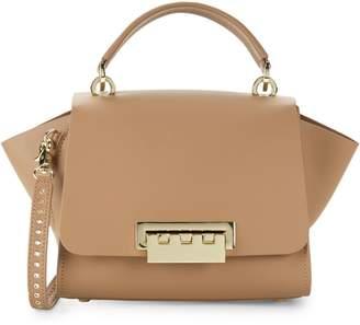 Zac Posen Eartha Leather Satchel Crossbody Bag
