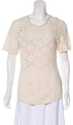 Raquel Allegra Short Sleeve Lace Short