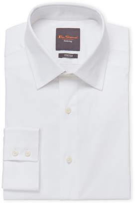 Ben Sherman White Slim Stretch Dress Shirt