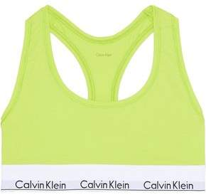 Calvin Klein Underwear Neon Stretch-cotton Soft-cup Bra