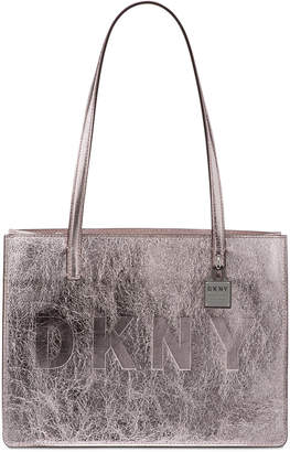 DKNY Commuter Leather Tote