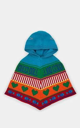 Gucci Infants' Intarsia-Knit Wool Poncho