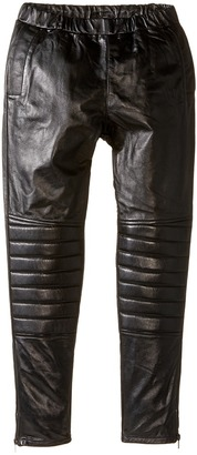 eve jnr - Leather Harem Pants Kid's Casual Pants $300 thestylecure.com