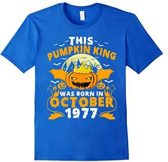 This Pumpkin King Was Born In October 1977 T-shirt