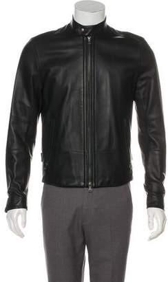 Vince Leather Racer Café Jacket w/ Tags
