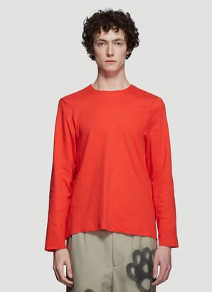 Camiel Fortgens Tailored Long Sleeve T-Shirt in Orange