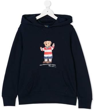 Ralph Lauren Polo Bear print hoodie