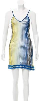 Missoni Patterned Swim Cover-Up Dress