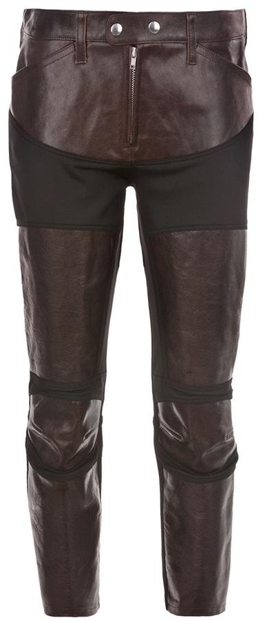Junya Watanabe Leather trouser