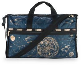 LeSportsac Rifle Paper Co. x LeSportsac Large Weekender $150 thestylecure.com