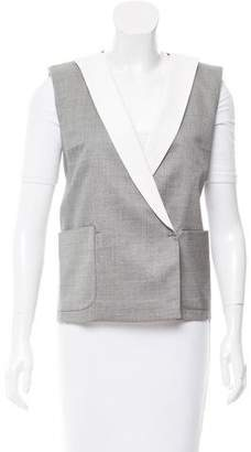Giambattista Valli Asymmetrical Fitted Vest