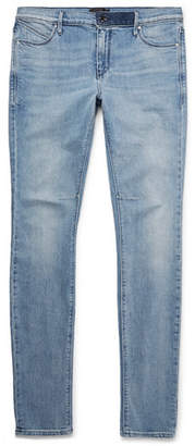 RtA Skinny-Fit Distressed Stretch-Denim Jeans - Light denim