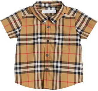 Burberry Vintage Check short-sleeve shirt