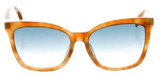 Fendi Tortoiseshell Square Sunglasses w/ Tags