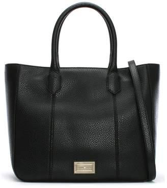 Emporio Armani Pebbled Black Tote Bag