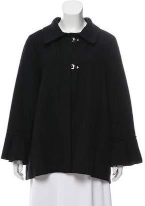 Lanvin Wool Long Sleeve Jacket