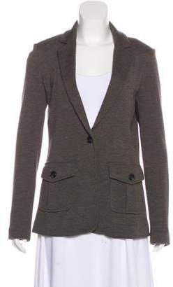 Tory Burch Wool-Blend Notch-Lapel Blazer