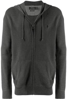 Polo Ralph Lauren hooded zip-up cardigan