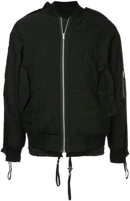 Indice Studio side pockets bomber jacket