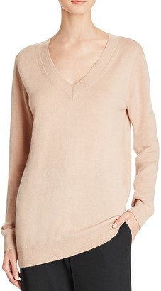 Vince V-Neck Cashmere Sweater $320 thestylecure.com