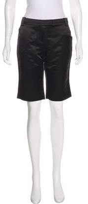 Tory Burch Satin Knee-Length Shorts