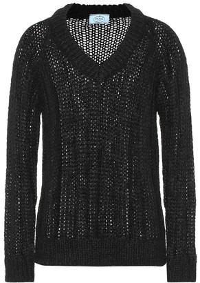 Prada Mohair and wool-blend sweater