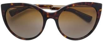 Bulgari cat eye sunglasses