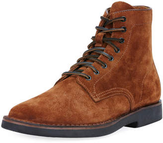 Frye Arden Suede Lace-Up Boot, Brown