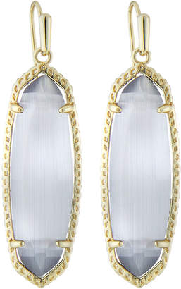 Kendra Scott Layla Drop Earrings, Slate Cat's Eye