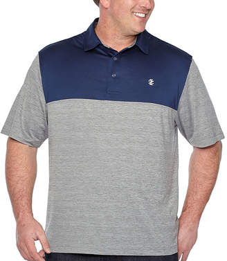 Izod Short Sleeve Knit Polo Shirt Big and Tall