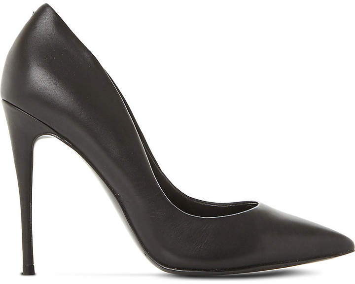 Steve Madden Daisie leather heeled courts