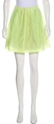 Rebecca Minkoff Stripe Mini Skirt w/ Tags