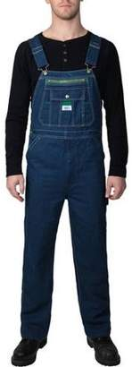 Liberty Big Men's 100% Cotton Rigid Denim Bib Overall