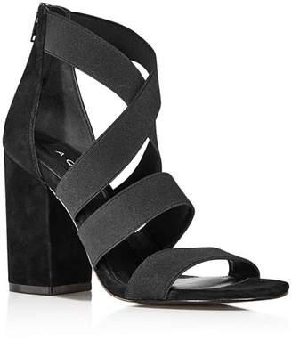 b72bcb519df7 Aqua Women s Frenz Strappy Block Heel Sandals - 100% Exclusive