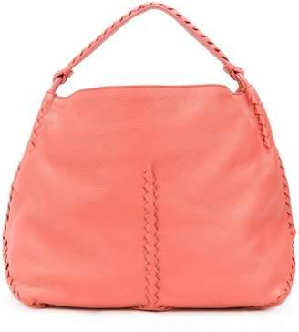 Bottega Veneta stitching detail tote bag