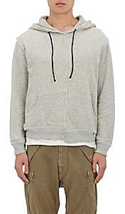 R 13 Men's Cotton French Terry Hoodie - Gray