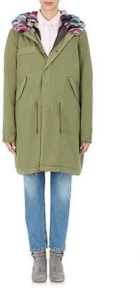 Mr & Mrs Italy Women's Fur-Lined Parka