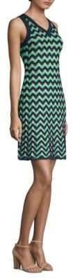 M Missoni Zig Zag Sleeveless Knit Dress