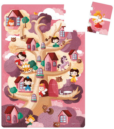 Janod Toys Giant Fairy Floor Puzzle