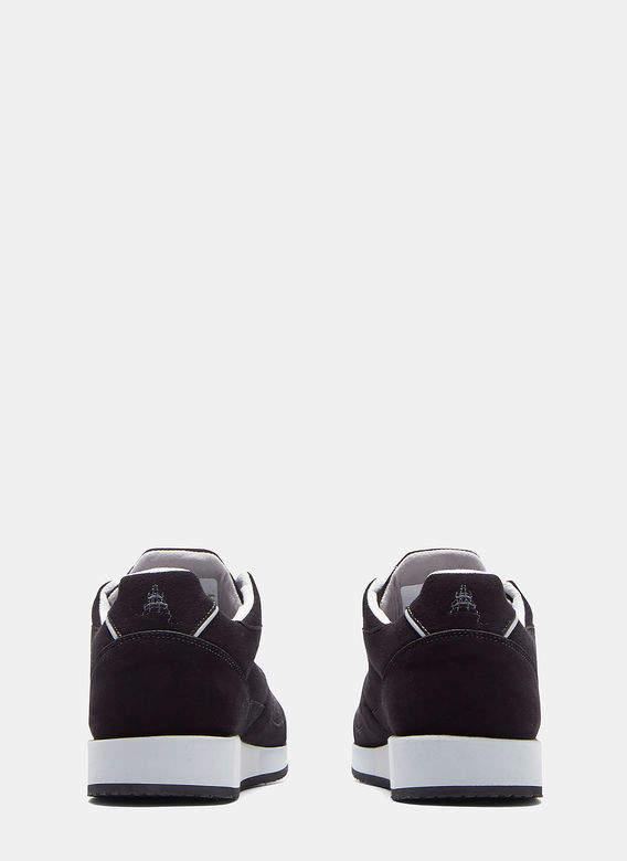 Lunge Damen Classic Walk Sneakers in Black