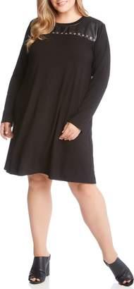 Karen Kane Studded A-Line Dress