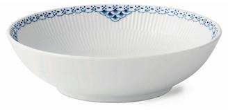 Royal Copenhagen Princess Bowl - White/Blue