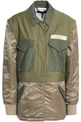 Rag & Bone Modular Convertible Cotton-Canvas And Shell Jacket