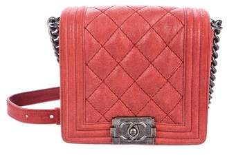 Chanel Gentle Small Square Boy Bag
