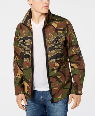 G Star Men's Camo Print Utility Jacket