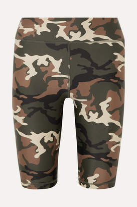 23e8250f0478d The Upside Camouflage-print Stretch Shorts - Army green