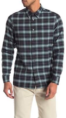 Slate & Stone Regular Fit Checkered Print Shirt