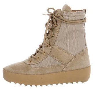 Yeezy Season 3 Military Boots $545 thestylecure.com