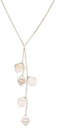 Tiffany & Co. Return to Tiffany Heart Tag Lavalier Necklace $245 thestylecure.com