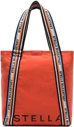 Stella McCartney logo-print padded nylon tote bag